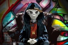 Alien Rapper