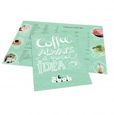 Летнее меню для кафе 2bob