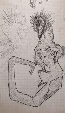 Дракон: графика.