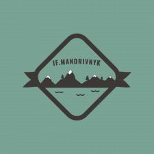 Логотип для тур-агенства if.Mandrivnyk