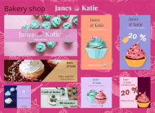 """""""Janes & Katie"""" Bakery Shop"""