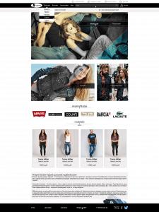 Интернет магазин по продаже джинсов