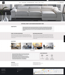 Сайт-визитка HomeDivan