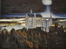 Замок под луной