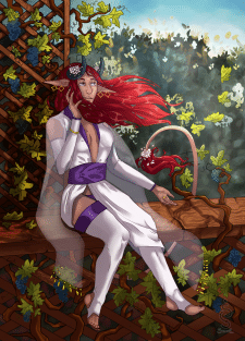 Персонаж Зэла, художницы под никнеймом Zilya-Lya