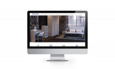 Сайт-каталог фабрики меблів