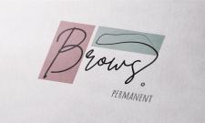 """Логотип """"Перманентный макияж бровей"""""""
