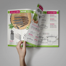 Дизайн и верстка каталога