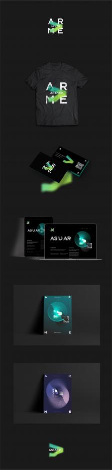 Фирменный стиль для AR агенства