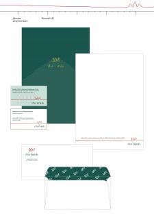 разработка лого, фирменного стиля, ДМ Банк