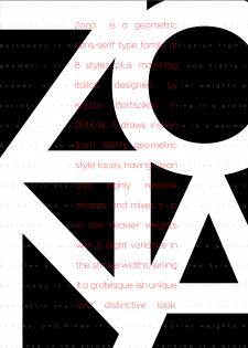 Серія типографічних плакатів