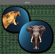 векторні зображення в різних стилях2