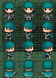 Pixel-Art персонаж для Infected (Soldier)