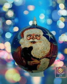 Дед Мороз с песиком 2018