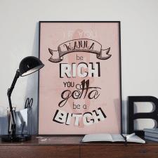 Постер мотивационный