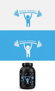 Логотип для банки Спорт питания