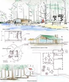 Концепция загородного кэмпинга