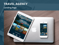 Travel agency Lending page