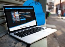 Microsoft Lumia 640 Landing Page