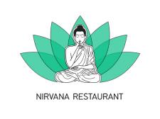 Логотип для Nirvana Restaurant