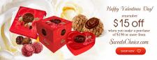 Рекламный баннер для онлайн-магазина Sweets choice