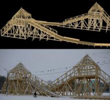 пример деревянной конструкции