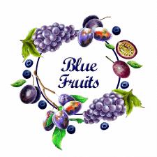 Blue fruits