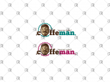 "Логотип для кофетерия ""Кофеман"""