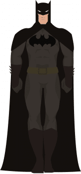 Графический дизайн. Бэтмен, рисунок