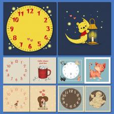 Дизайн настінних годинників
