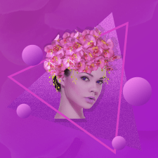 Collage orchid