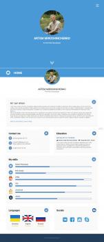Портфолио (HTML/CSS/JS)