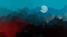 Пейзаж_Джунгли в огне