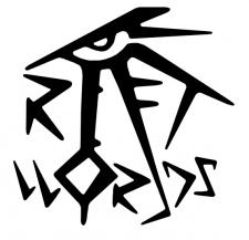"""Логотип игрового сообщества """"Rift-Worlds"""""""