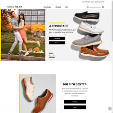 ColeHaan - интернет-магазин обуви Shopify