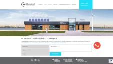Страница контактов для сайта «Climatech.ua»