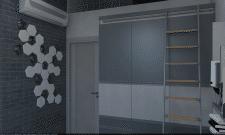 Детская в двухуровневой квартире