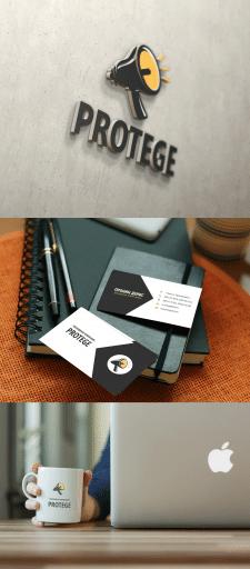 Лого + Визитка Protege