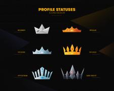 Иконки профиля