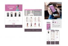 Дизайн сайту для онлайн магазину спідниць