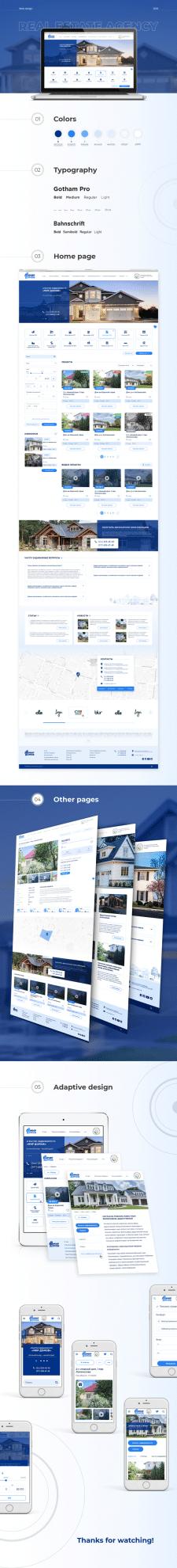 Real estate agency website