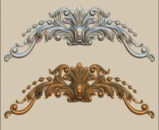 орнамент для мебели и украшения стен