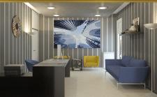 Офис агенства недвижимости в Греции