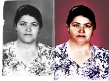 реставрация фото+ добавление цвета