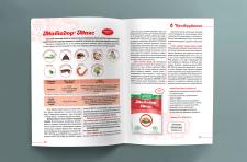 Верстка и дизайн каталога для «Аптеки садовода»