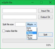 wSplit-file
