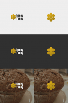 Honey Funny Logo