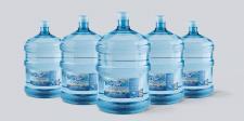 Дизайн этикетки для воды Brilliant