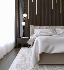 Спальня в пентхаусе 2 вариант