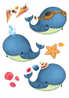 Маленький кит